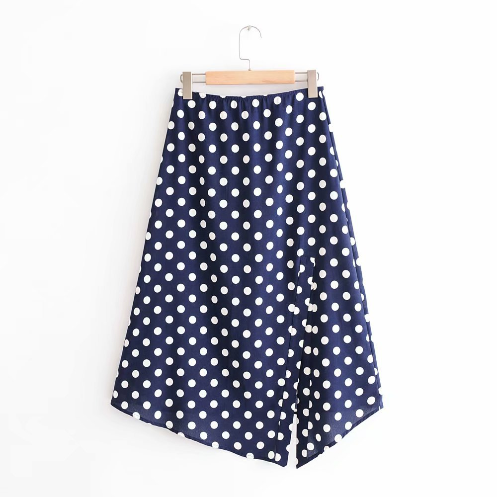 Cotton Fashionskirt(Picture color -S) NHAM4363-Picture-color-S