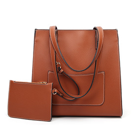 Bag new child mother bag  hot sale fashion bag European and American style lychee pattern shoulder diagonal ladies bag