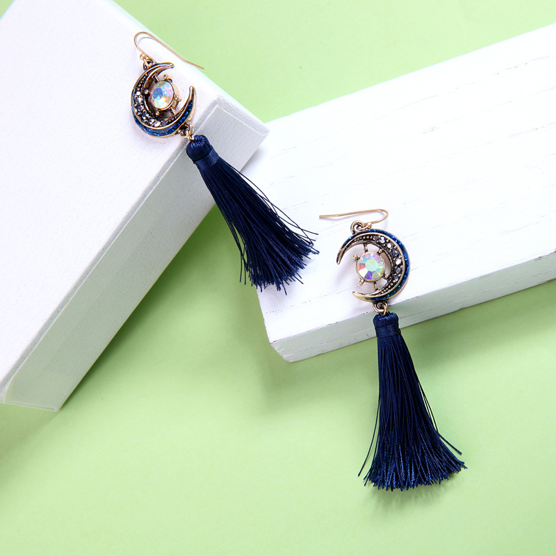 Alloy Fashion Geometric earring(Photo Color) NHQD5108-Photo Color
