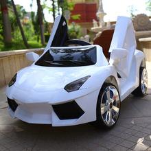 兒童電動車汽車四輪搖擺雙驅寶寶電瓶童車遙控玩具車可坐人帶早教