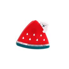 爆款!可爱西瓜草莓造型小熊?#38556;?#35199;瓜发夹发饰抓夹儿童卡通发夹