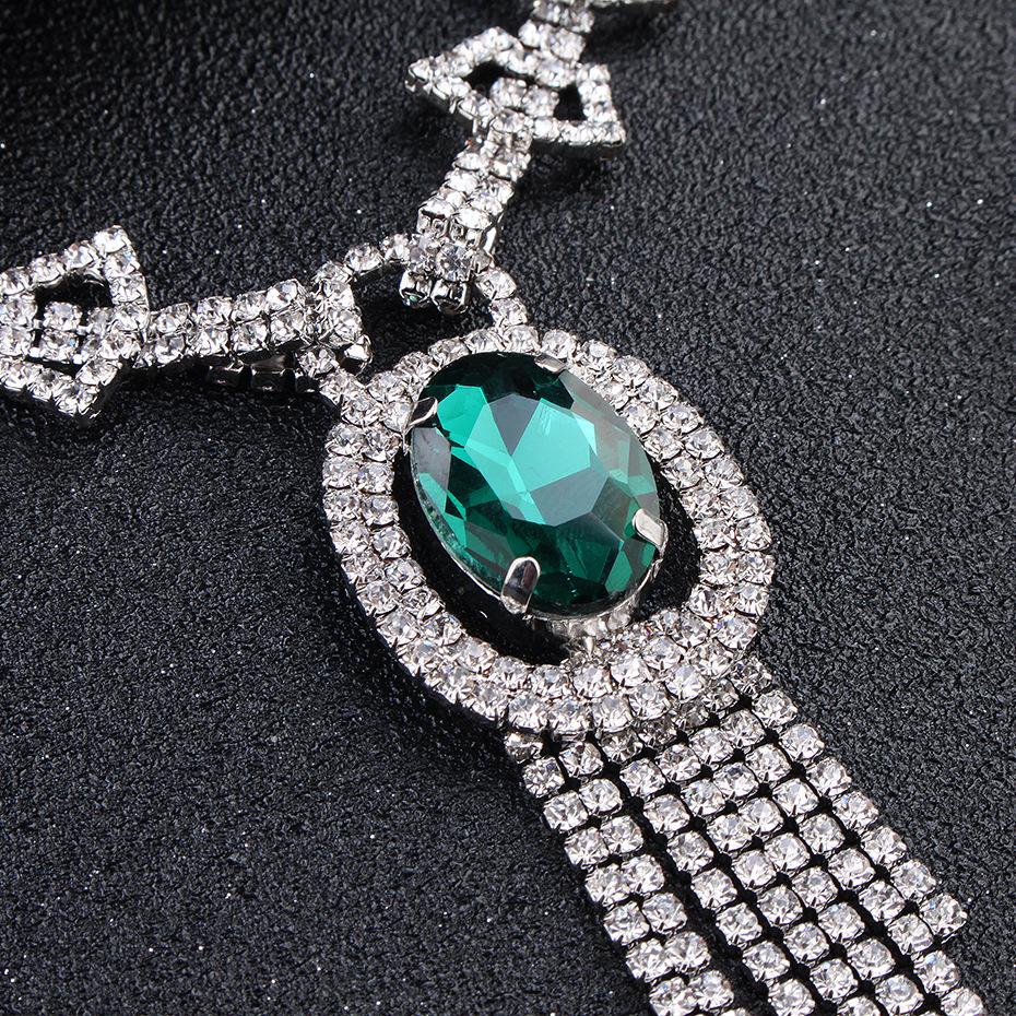 Highend earrings necklace wedding accessories NHHS144917