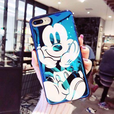 Mới của Apple 8 vỏ điện thoại di động mạ TPU bảo vệ tay áo iPhonex vỏ điện thoại di động mạ màu xanh TPU bán buôn