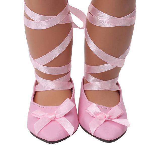 18寸美国女孩娃娃鞋子 皮鞋  凉鞋 各类现货鞋子厂家直销外贸热销