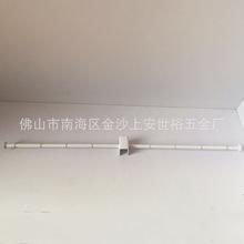 卡方管双托内衣杆 金属内衣挂杆 衣架陈列展示道具 服装展示挂杆