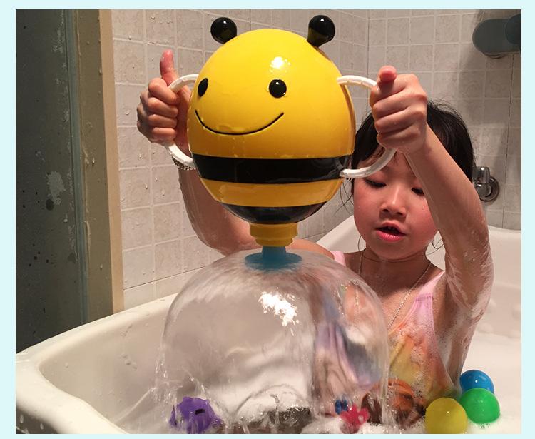 抖音宝宝洗澡玩具小蜜蜂喷泉漏水玩具蜜蜂花洒儿童沙滩戏水玩具