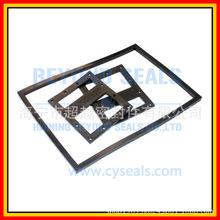 厂家开模具加工耐油耐高温矩形方形丁晴橡胶密封垫