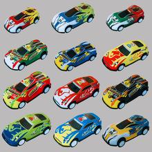 回力慣性合金車 兒童金屬鐵皮小玩具車小汽車 仿真迷你車模型套裝