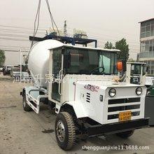 混凝土运输车 厂家改装二手底盘商品小型混凝土搅拌运输车