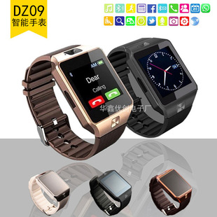 DZ09 smart watch touch screen smart bluetooth camera watch can be inserted card cross-border gift wholesale customization