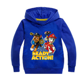 New children's hoodies Puppy children's clothing cotton children's spring and autumn sweater Long-sleeved T-shirt MS1637XG