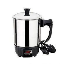 不锈钢电热杯 煮面杯 学生电热杯 迷你电热锅 旅行杯