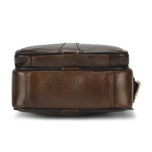 កាបូបបុរស Men Leather Top Layer Cowhide Casual Bag PZ745686