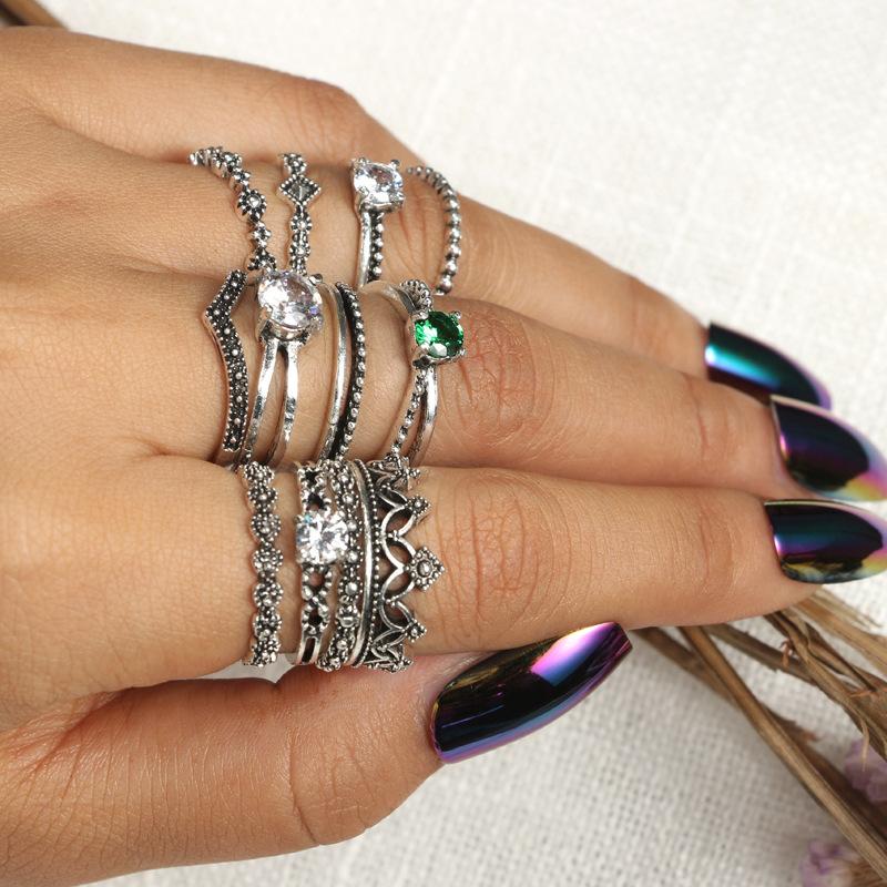 Fashion Alloy plating Ring(Main color)NHGY1689-Main color