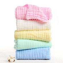 巾类毯类水洗纱布浴巾6六层纯棉泡泡童被褶皱童被婴幼儿用品医用