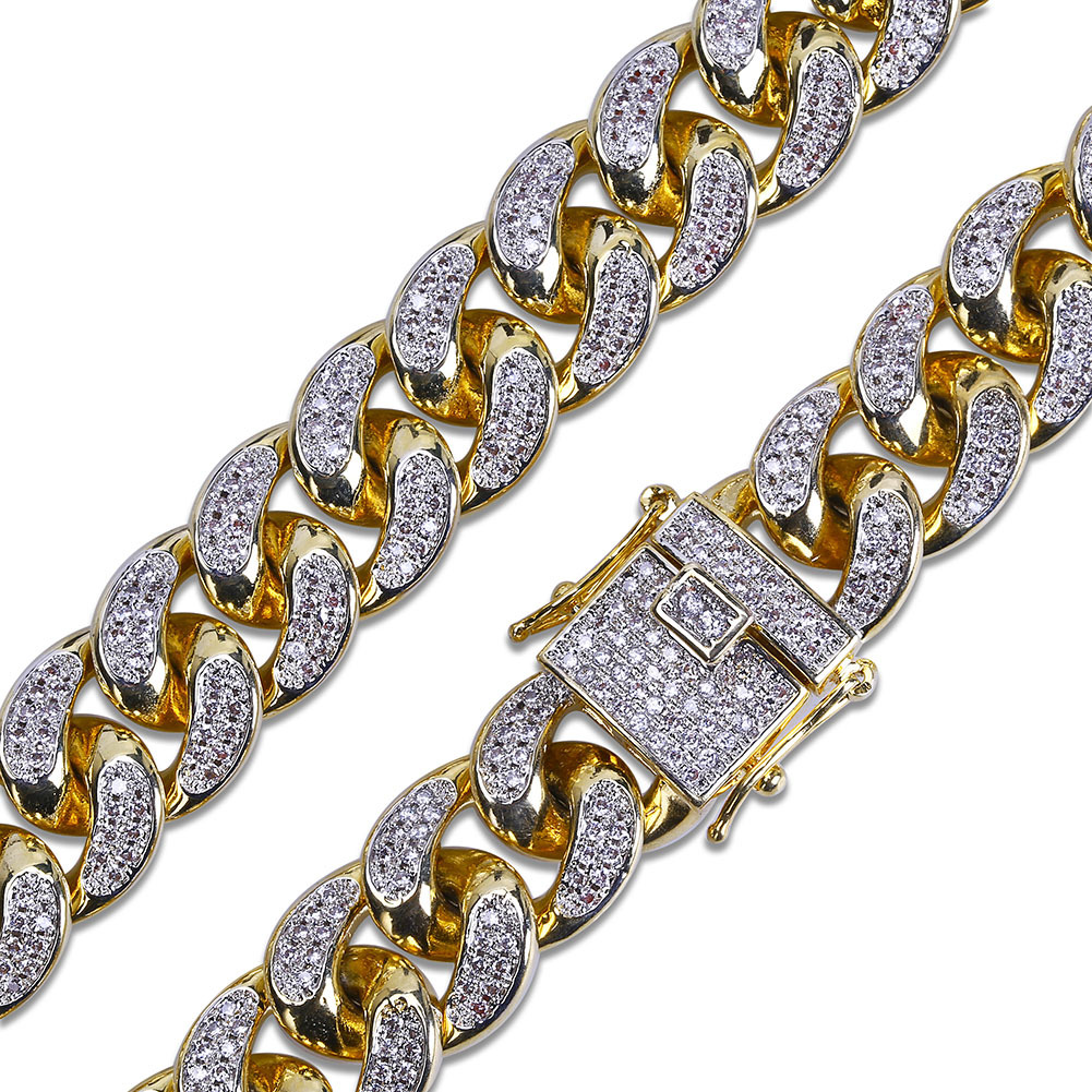 2019 Iced Out Chains Mens Designer Necklace Hip Hop