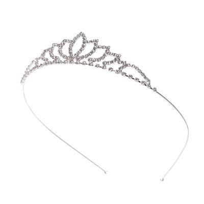 A8528新款韩版皇冠发箍发饰品批发 精美水钻爱心皇冠厂家直销