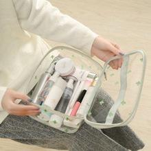 旅行大容量化妝包袋透明洗漱包大小號多功能簡約防水收納包套裝