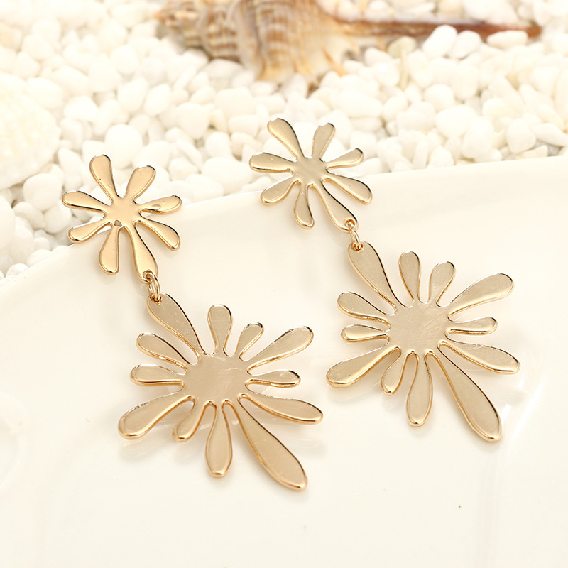 Alloy Fashion Flowers earring  Alloy NHGY2380Alloy