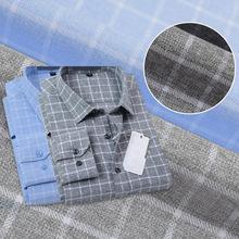 现货供应 磨毛格子布时尚衬衫面料休闲秋冬法兰绒衬衣布料色织布