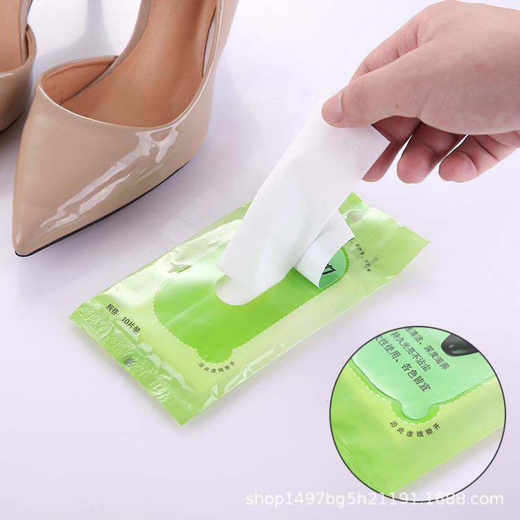 一次性上光擦鞋巾