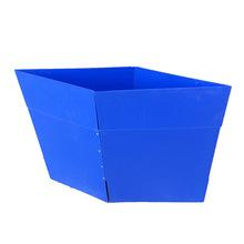 供应各款工业通用pp塑料中空板周转箱 塑胶瓦楞板收纳箱