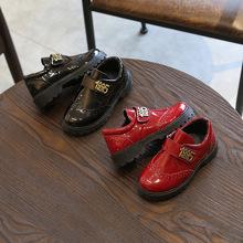 男童鞋西装西服漆皮儿童礼服皮鞋春秋新款复古演出鞋子学生表演鞋