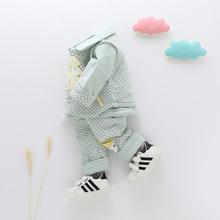 新生儿秋季新款婴儿春秋 男女宝宝衣服婴儿三件套装 厂家直销批发
