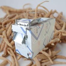 根茎木材药材切片机 中药材切片机 药材切片机 家用小型切片机