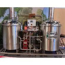 济好200L鲜啤酒自酿设备 不锈钢电加热烧烤酒店自酿设备