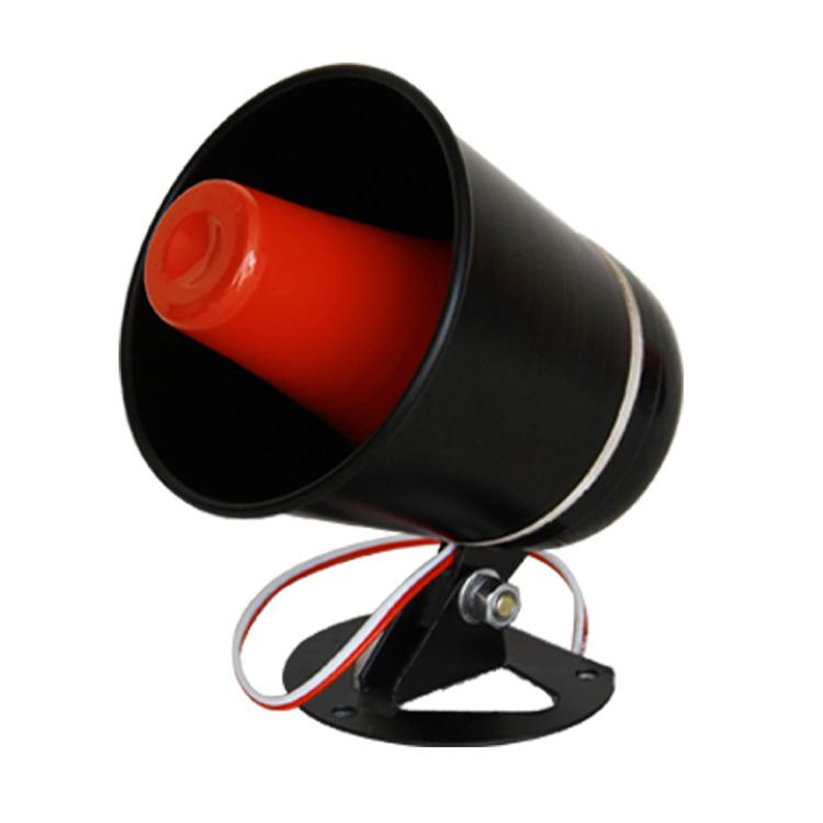 厂家直销报警扬声器 大功率车载录音插卡喊话器 宣传扩音器批发