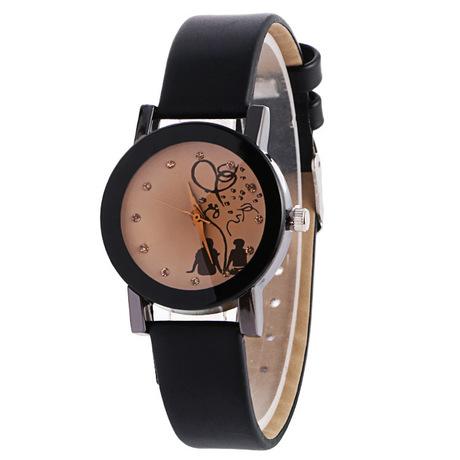 Taobao cung cấp trường nóng giải trí Phiên bản Hàn Quốc của vành đai sinh viên yêu đôi nam mẫu đồng hồ đeo tay nữ thời trang
