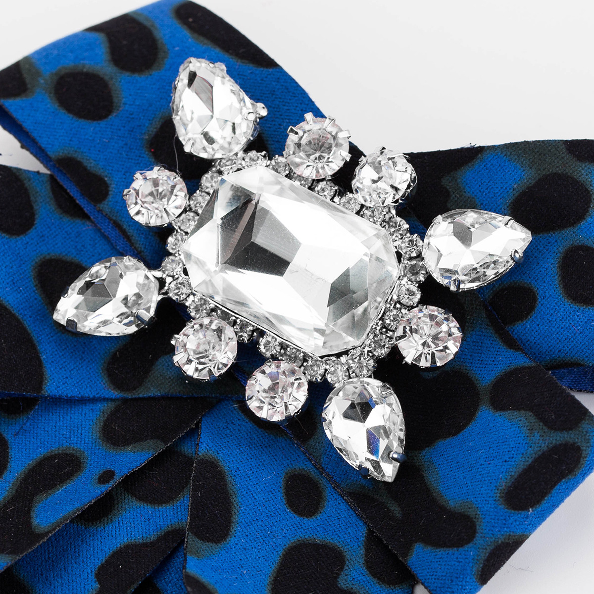 Alloy Fashion Bows brooch  (red) NHJE1929-red