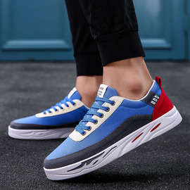 New men's vintage shoes, low uppers, outdoor leisure, students' shoes, fashion, summer ventilation, fashion, summer