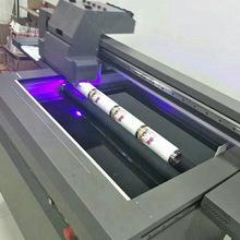 个性定制UV打印机圆柱体瓶子 可乐罐UV彩色喷绘保温杯UV打印机
