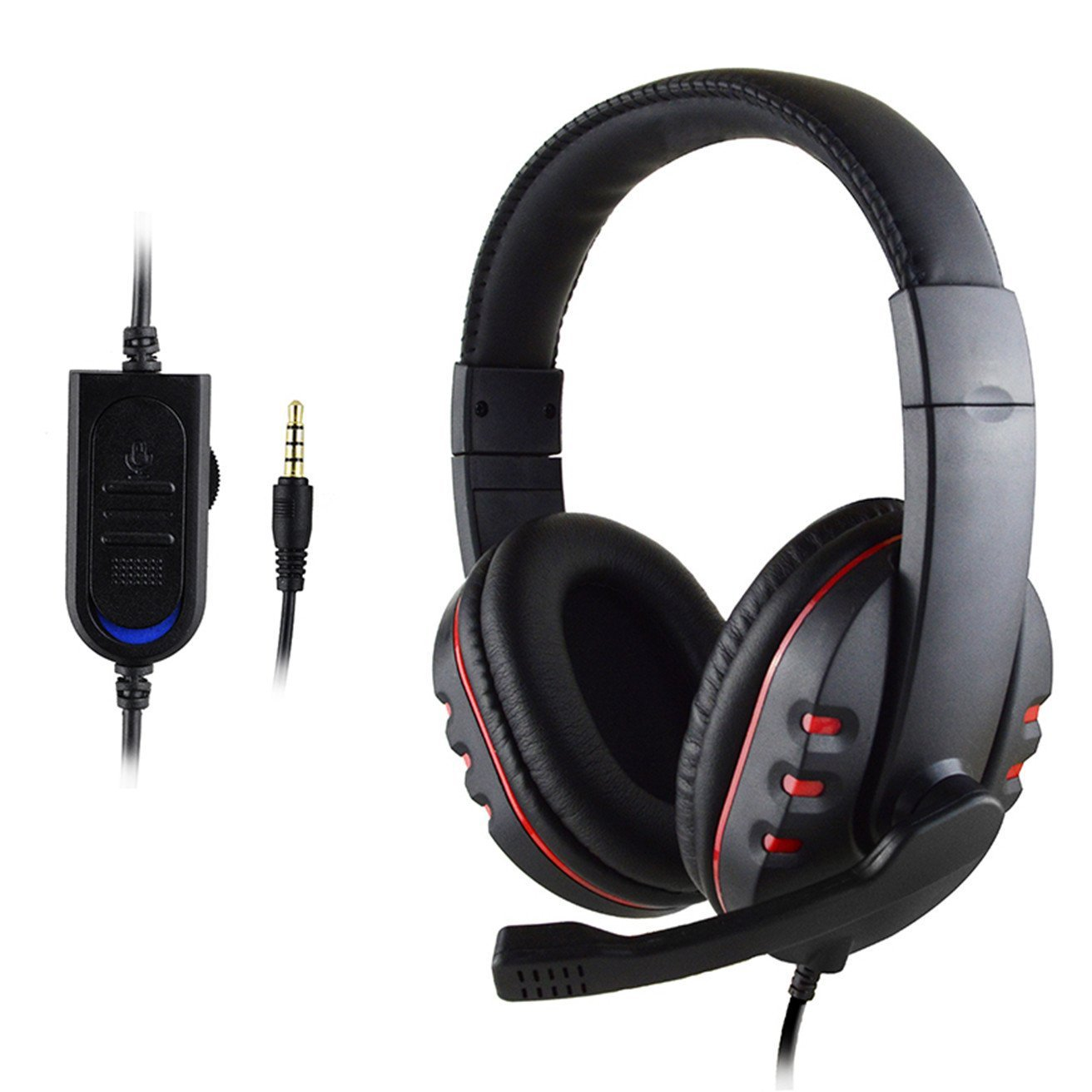 PS4-488 Gaming PS4 XB1 Switch Headphones 3.5 mm with MIC