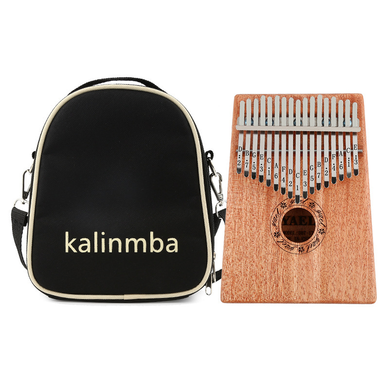 10/17 Keys Universal Kalimba Thick Cotton Storage Bag Thumb Piano Mbira Soft Case Oxford Cloth Inside Cotton Shoulder Bag Malaysia