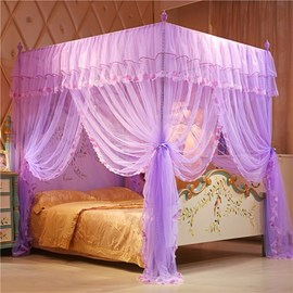 Mosquito nets three doors open 1.5m 1.8x2.0 in summer 2m2.2 queen bed double family use 1 12 5 58 8