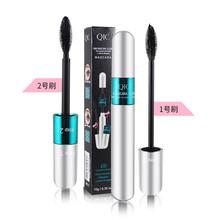 Qic Японии макияж в стиле двуглавый 4D тушь Элис водонепроницаемый волокна свиток шифрования не заляпать увеличена