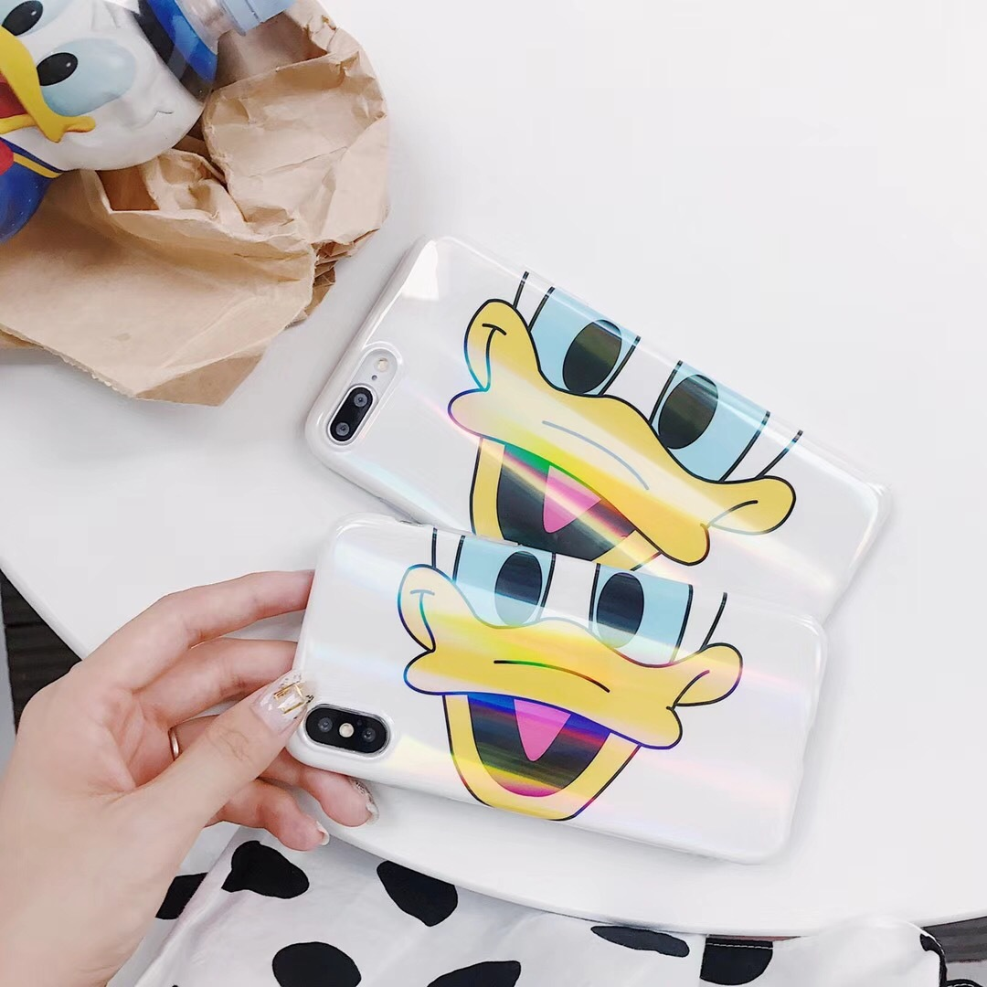 Apple 8x vibrato with the same vivo new iPhone7plus mobile phone shell oppo trend Donald Duck laser shell