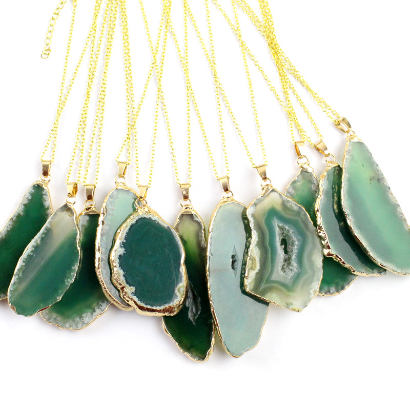 Green agate with chain.jpg