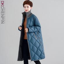 加厚羽绒服女装中长款2018冬装新款欧货冬款立领时尚宽松大码外套