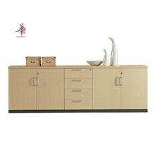 办公文件柜办公柜矮柜 地柜木质矮柜板式推拉门资料柜移门柜厂家