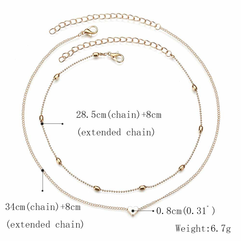 Alloy Fashion Sweetheart Necklace  Alloy NHBQ1390Alloy