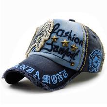 欧美时尚帽子字母贴布柳钉休闲棒球帽做旧户外鸭舌帽男女士棉质