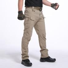 夏季特种兵耐磨IX7多口袋战术裤IX9作训裤特勤裤511裤军迷工装裤