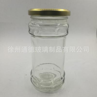 厂家直销280毫升酱菜玻璃瓶280ml玻璃酱菜瓶