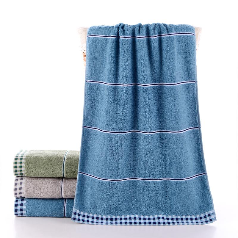 厂家直销纯棉40*90加长加大洗澡巾高阳礼品运动毛巾定制批发150克