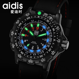 Eddie hot waterproof luminous men's watch tactical outdoor multi-function men's quartz watch explosion models