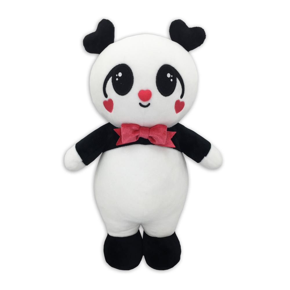 2019年新款创意毛绒玩具熊猫定制毛绒娃娃公仔儿童玩具可爱母子款